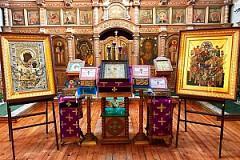 Святыни Сербского монастыря Хиландар с Афона