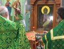 Состоялся чин освящения новой храмовой иконы святого благоверного князя Александра Невского.