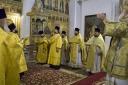 Митрополит Вадим совершил Божественную литургию в Успенском кафедральном соборе (Фотогалерея)